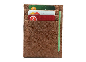 Pegasus Vinyl Magic Wallet-Cognac