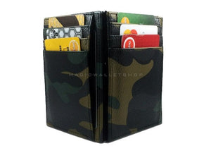 Pegasus Leather Magic Wallet-Camouflage