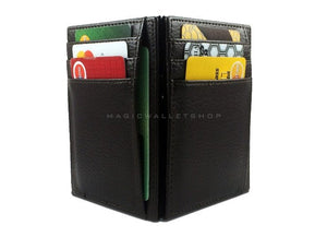 Pegasus Leather Magic Wallet-Black
