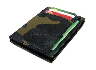 Pegasus Leather Magic Wallet - Camouflage