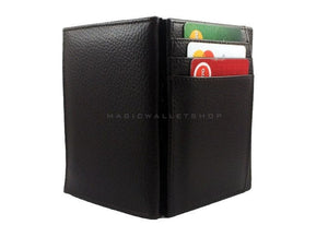 Pegasus Leather Magic Coin Wallet-Brown