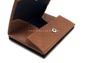 Pegasus Vinyl Magic Coin Wallet-Brown