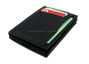 Pegasus Vinyl Magic Coin Wallet-Black