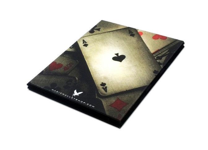 Slim Magic Wallet Aces Cards-