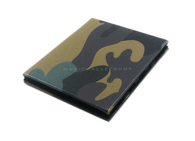 Slim Magic Wallet Leather - Camouflage