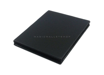 Slim Magic Wallet Leather - Black