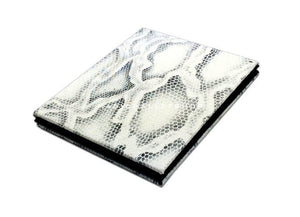 Slim Magic Wallet Snake Leather-White