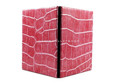 Slim Magic Wallet Reptile Leather - Pink