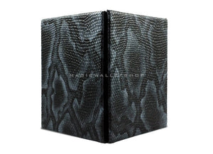 Slim Magic Wallet Snake Leather-Black