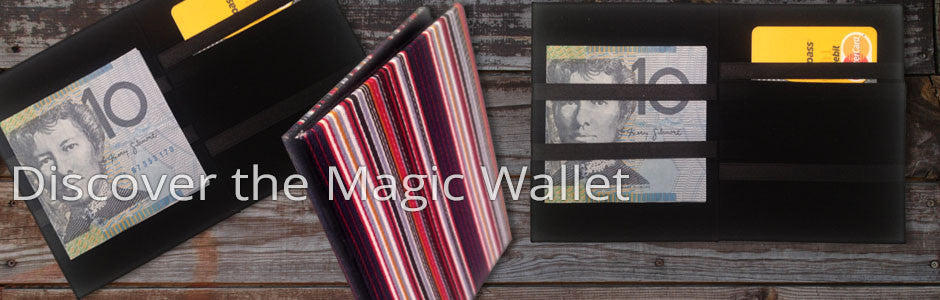 magic wallet demonstration