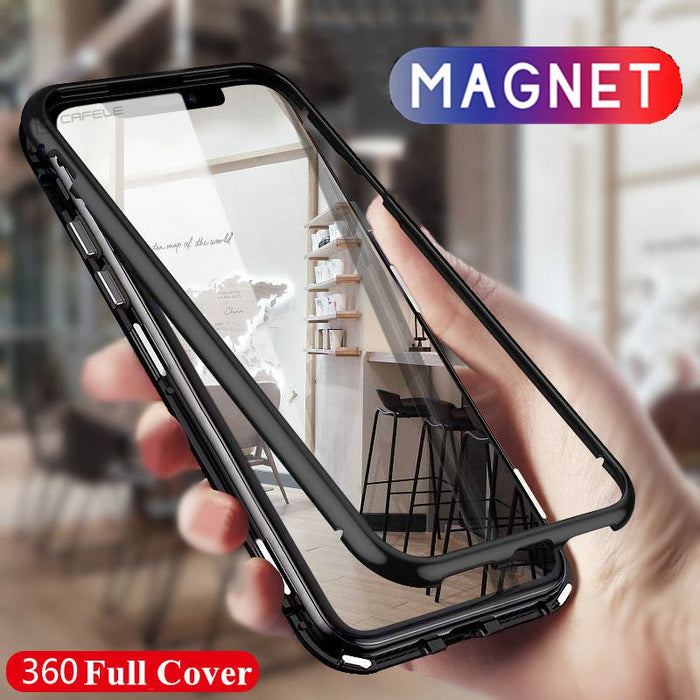 NEW FASHION MAGNETIC COVER PHONE CASE (iphone)
