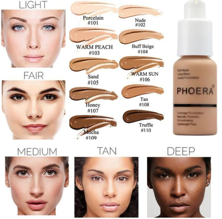 Soft Matte Liquid Foundation