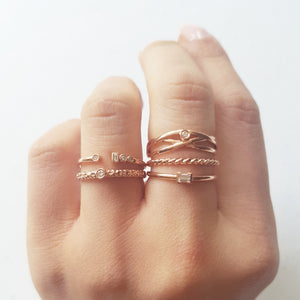 Everyday Diamonds Baguette Ring