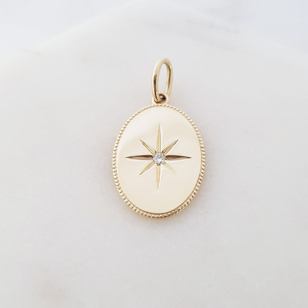 North Star Pendant Oval