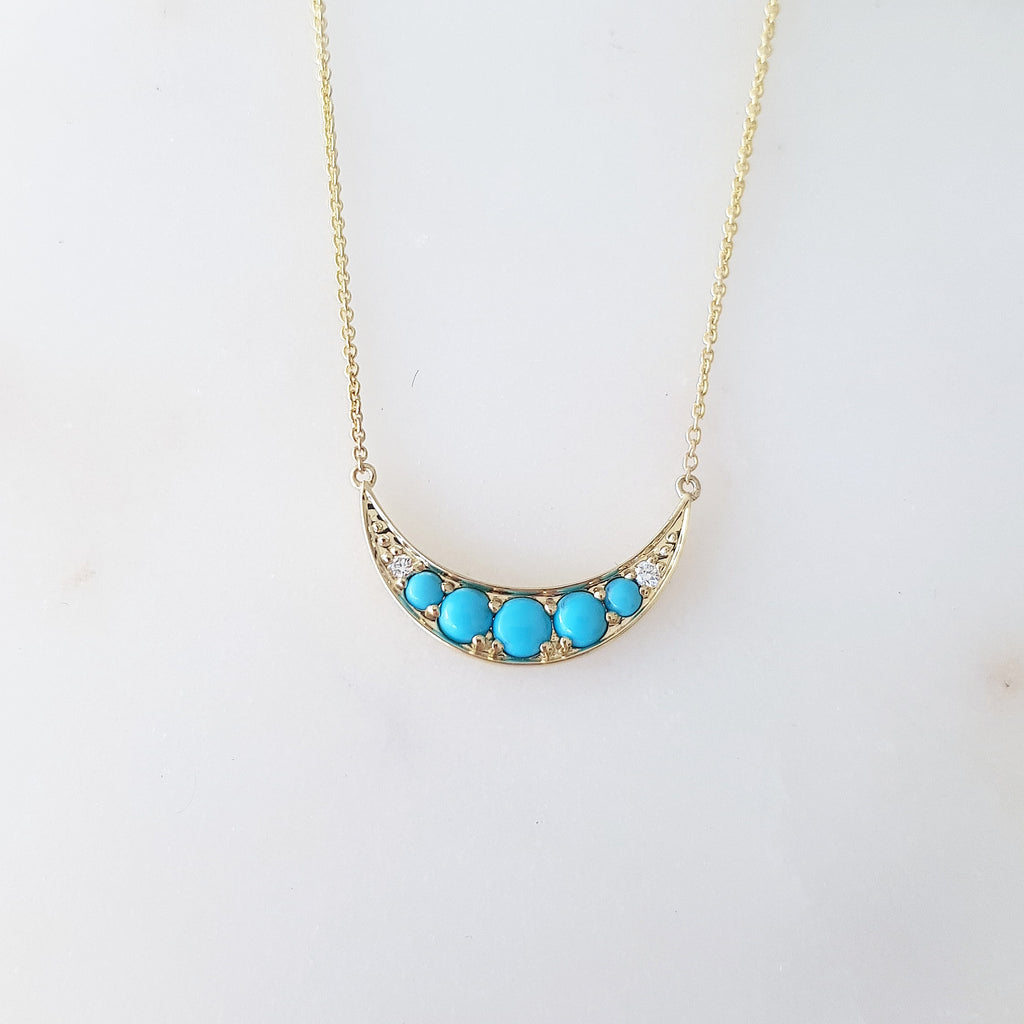 Blue Moon Necklet