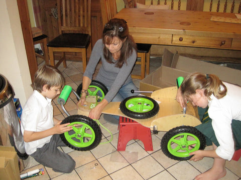 Build A Go Kart With Your Family