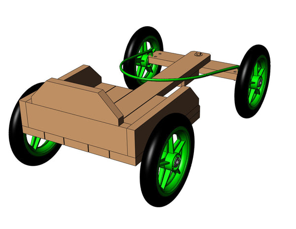 DIY Wooden Go-Kart Plans