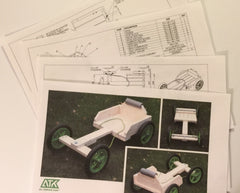 Wooden Go Kart DIY Starter Kit, Wheels and Axles – ATK All