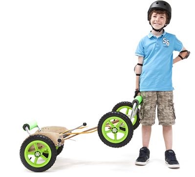 ATK All Terrain Kart - Wooden Kids Go Karts