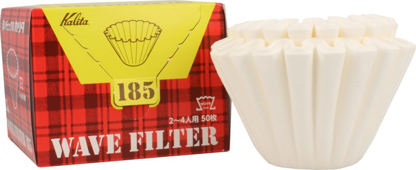 Kalita Wave #185 White Filter Papers 50 pcs