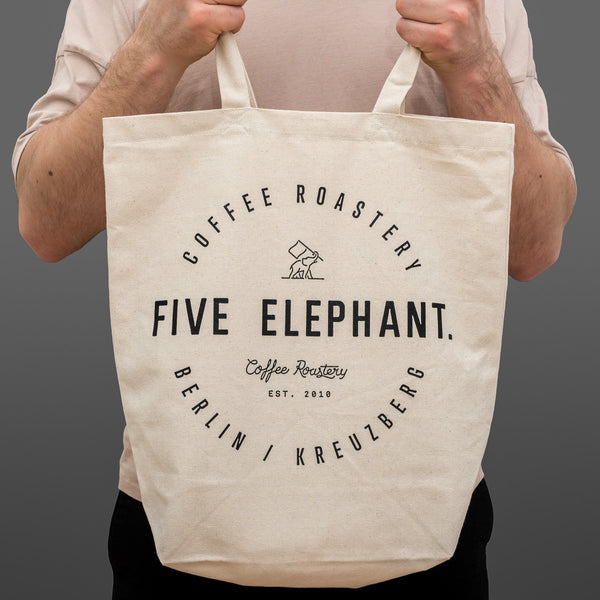 Five Elephant Tote Bag