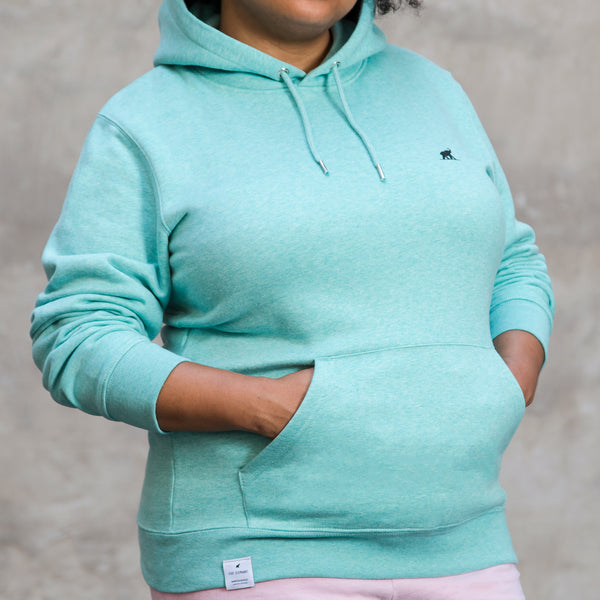HOODIE. Turquoise