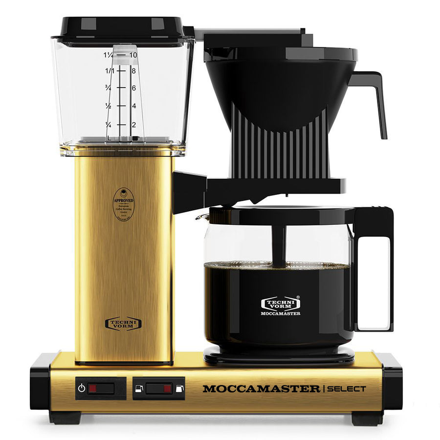Moccamaster KBG Select Brushed Brass