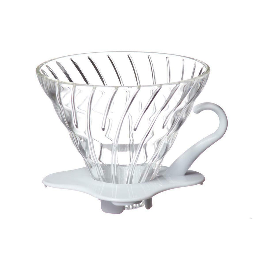 Hario v60 Glass 01 (White)