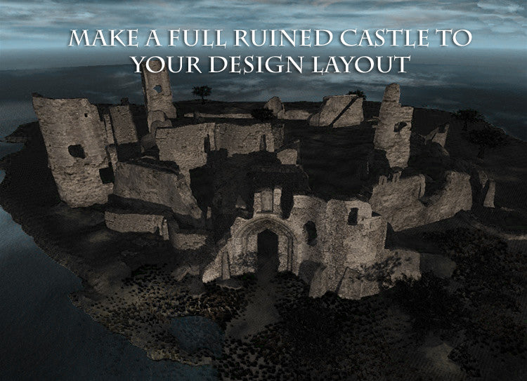 Ruined Castle Construction Pack
