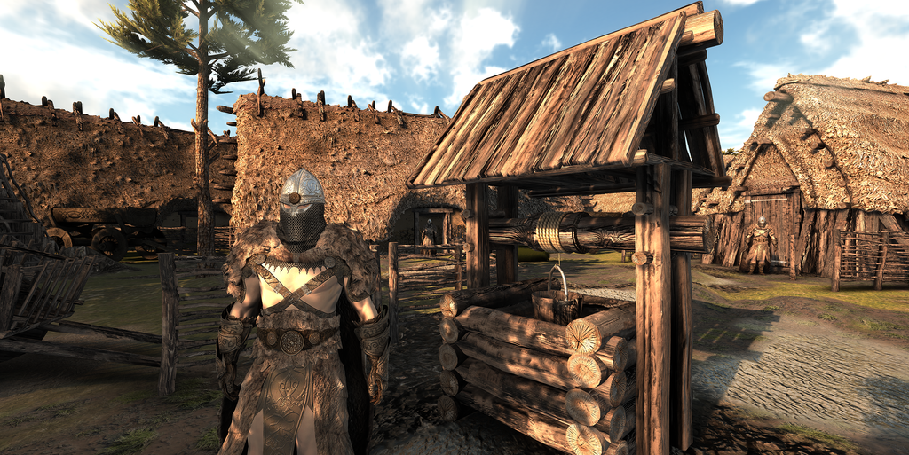 Anglo Saxon Village WorldBuilder Environment Pack Generic Format Version