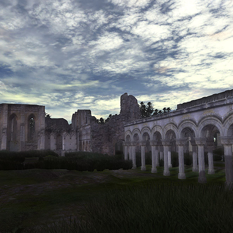 Abbey in Ruins
