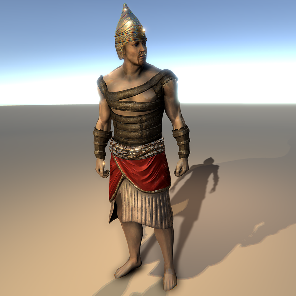 Ancient Hebrew Warrior