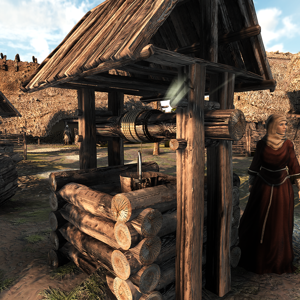 Anglo Saxon Village WorldBuilder Environment Pack