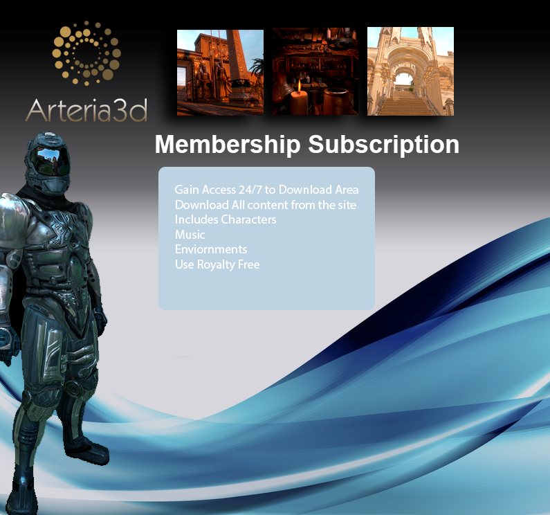 Arteria3d 1 Year Membership