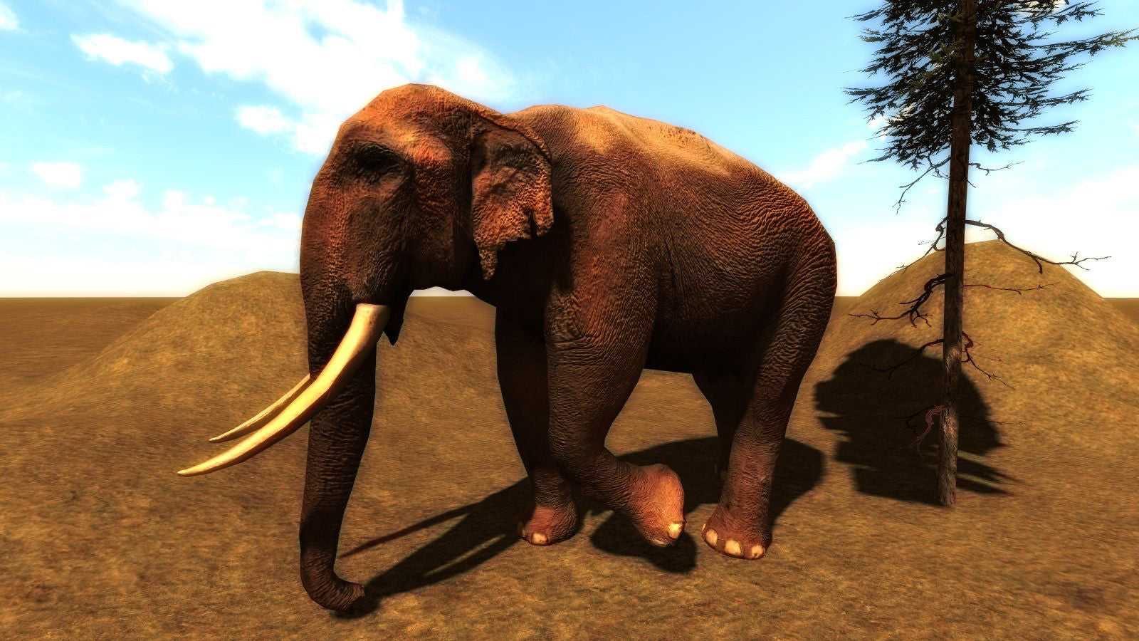 Asian Elephant for Leadwerks Engine