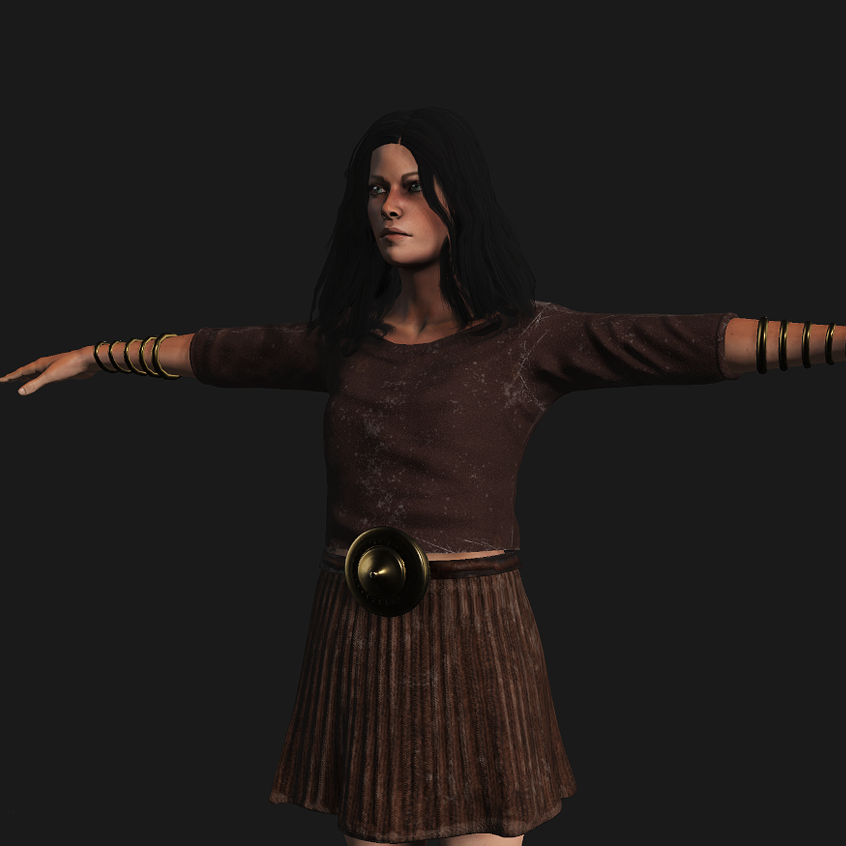 Bronze Age Female Costume Style A