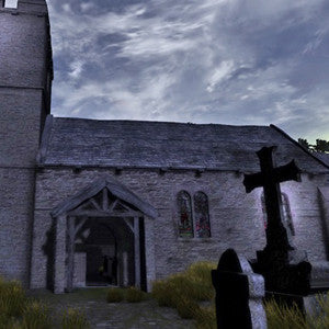 Medieval Church & Graveyard Pack