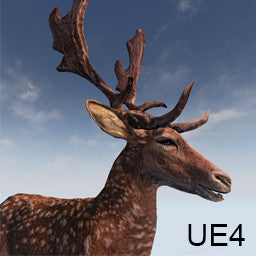 Fallow Deer for Unreal Engine 4