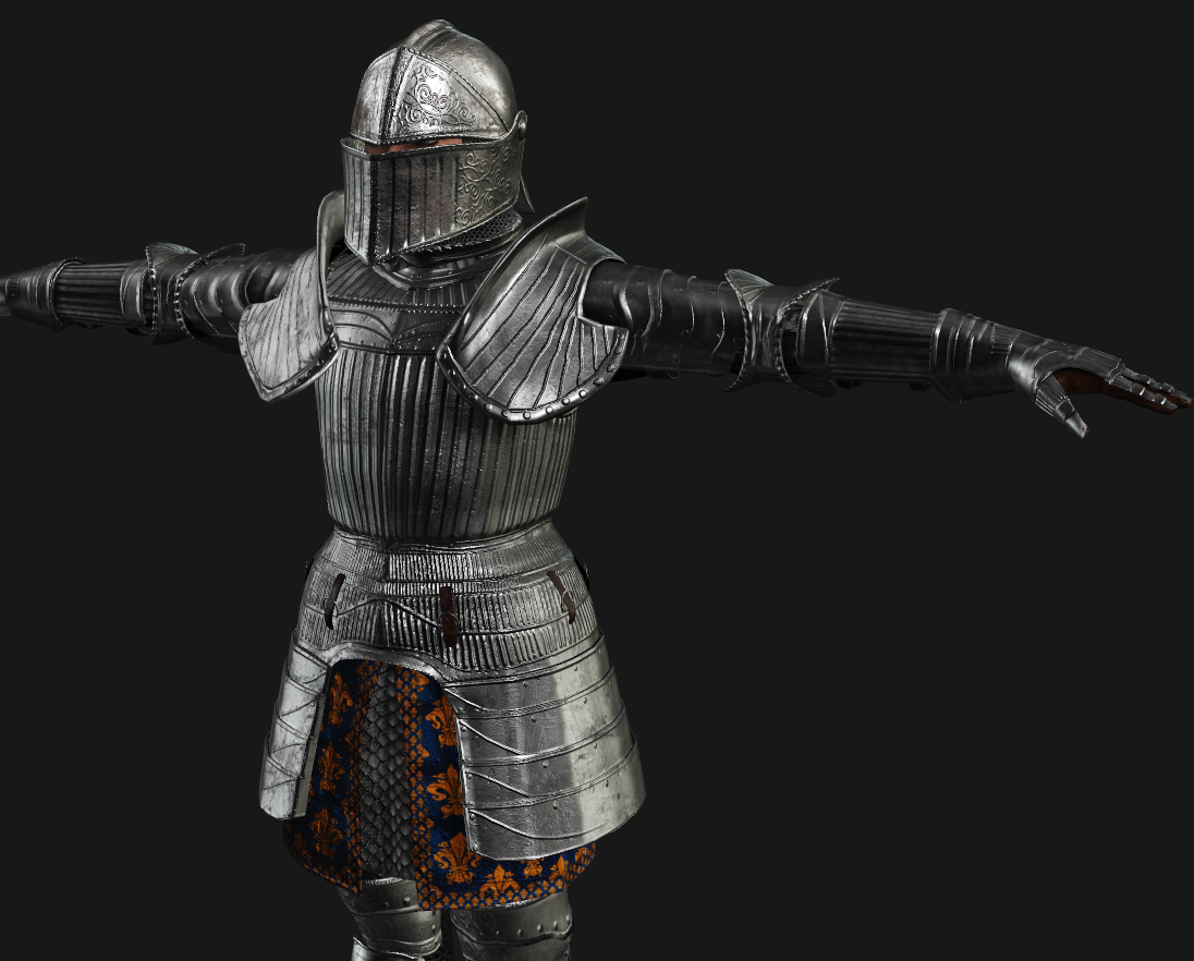 Female Knight for FUSE