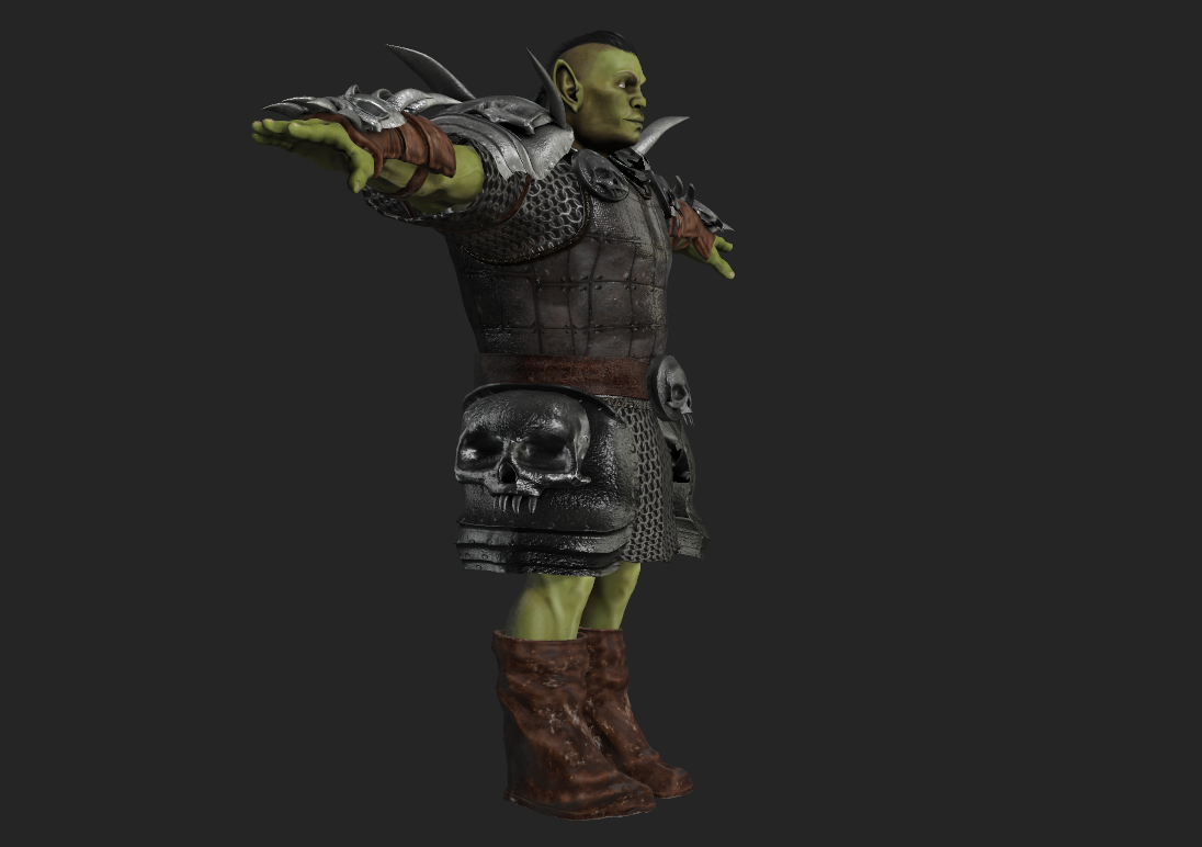 ORC Of The Clan FUSE Costume