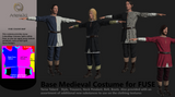 Medieval Base Costume for Fuse