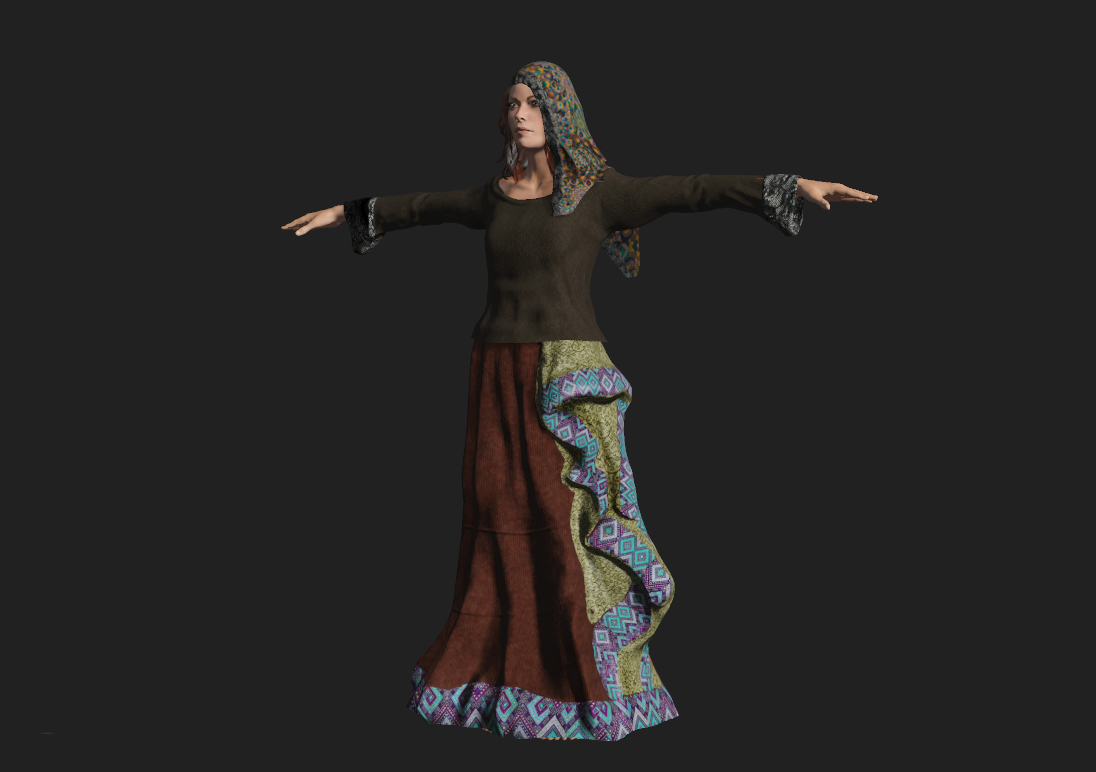 Gypsy Female Costume A