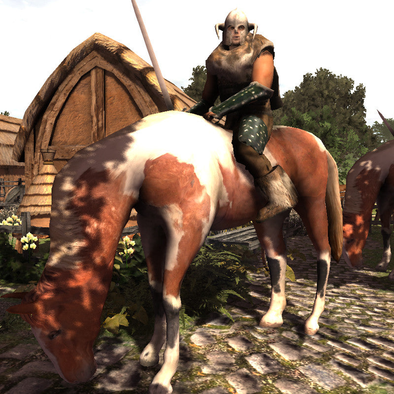 Nordraic Warrior & Horse