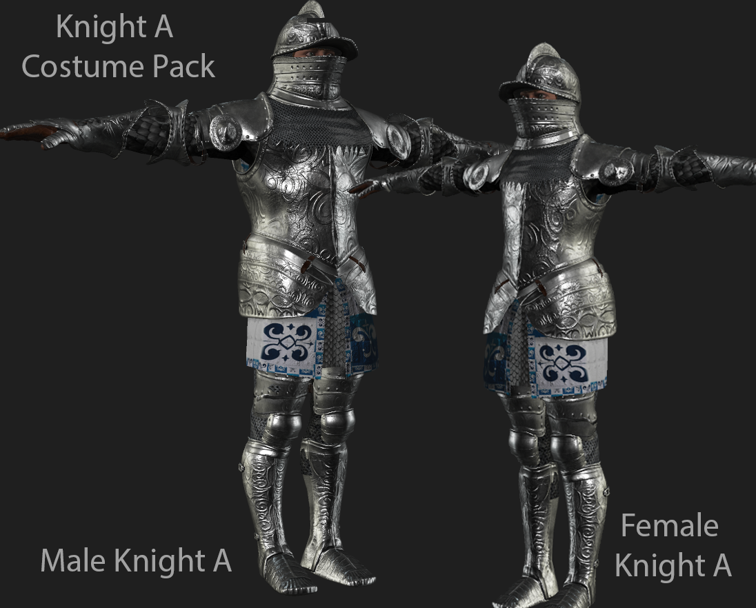 Knight A Costume for FUSE