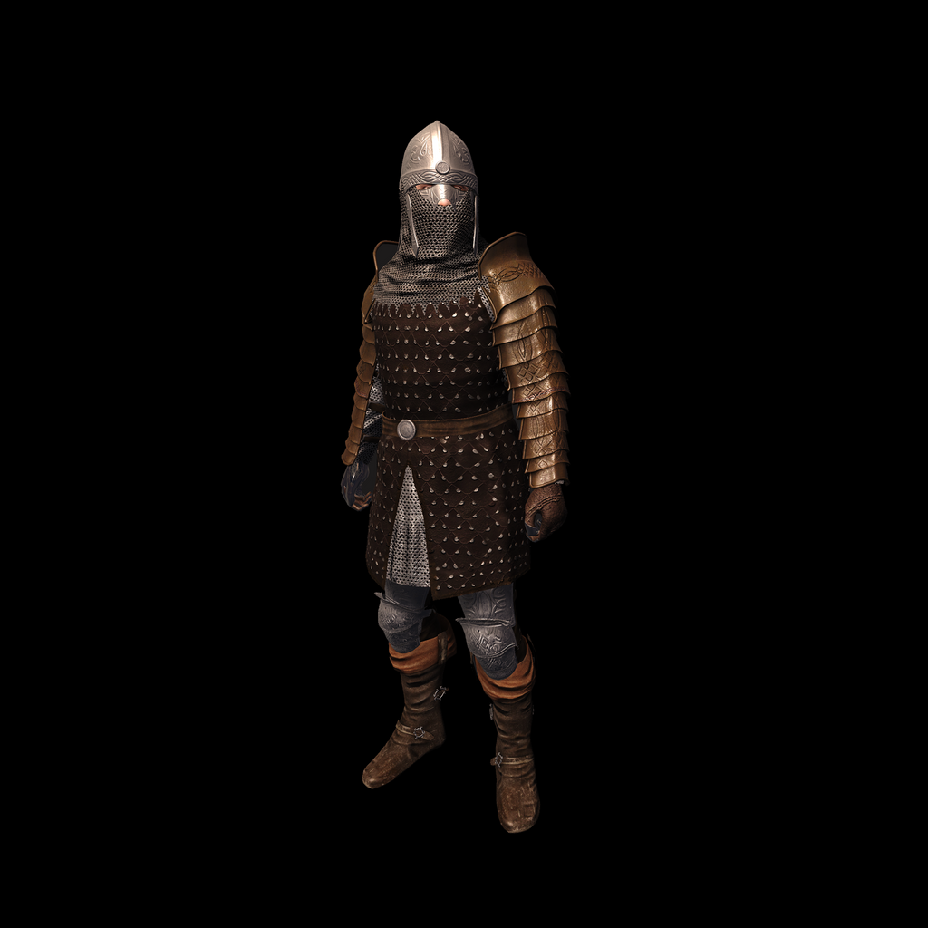 Medieval Knight A for UNITY