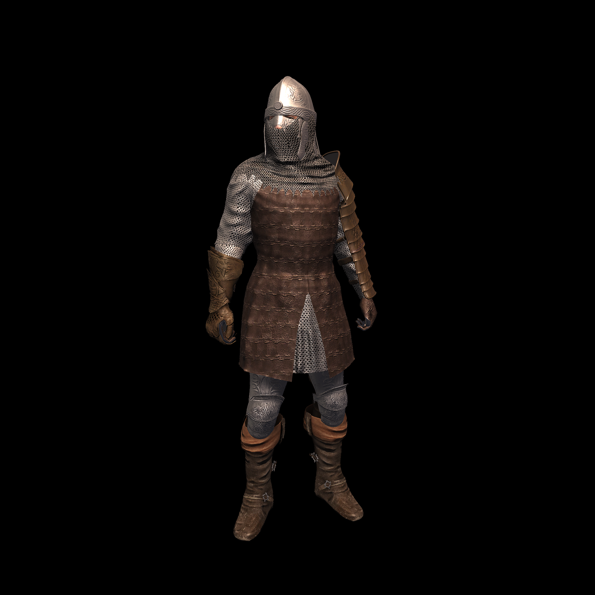 Medieval Knight B for UNITY