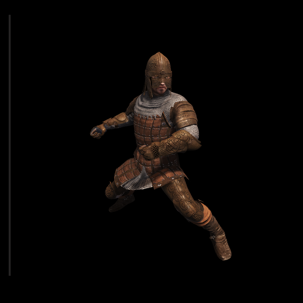 Medieval Knight C for UNITY