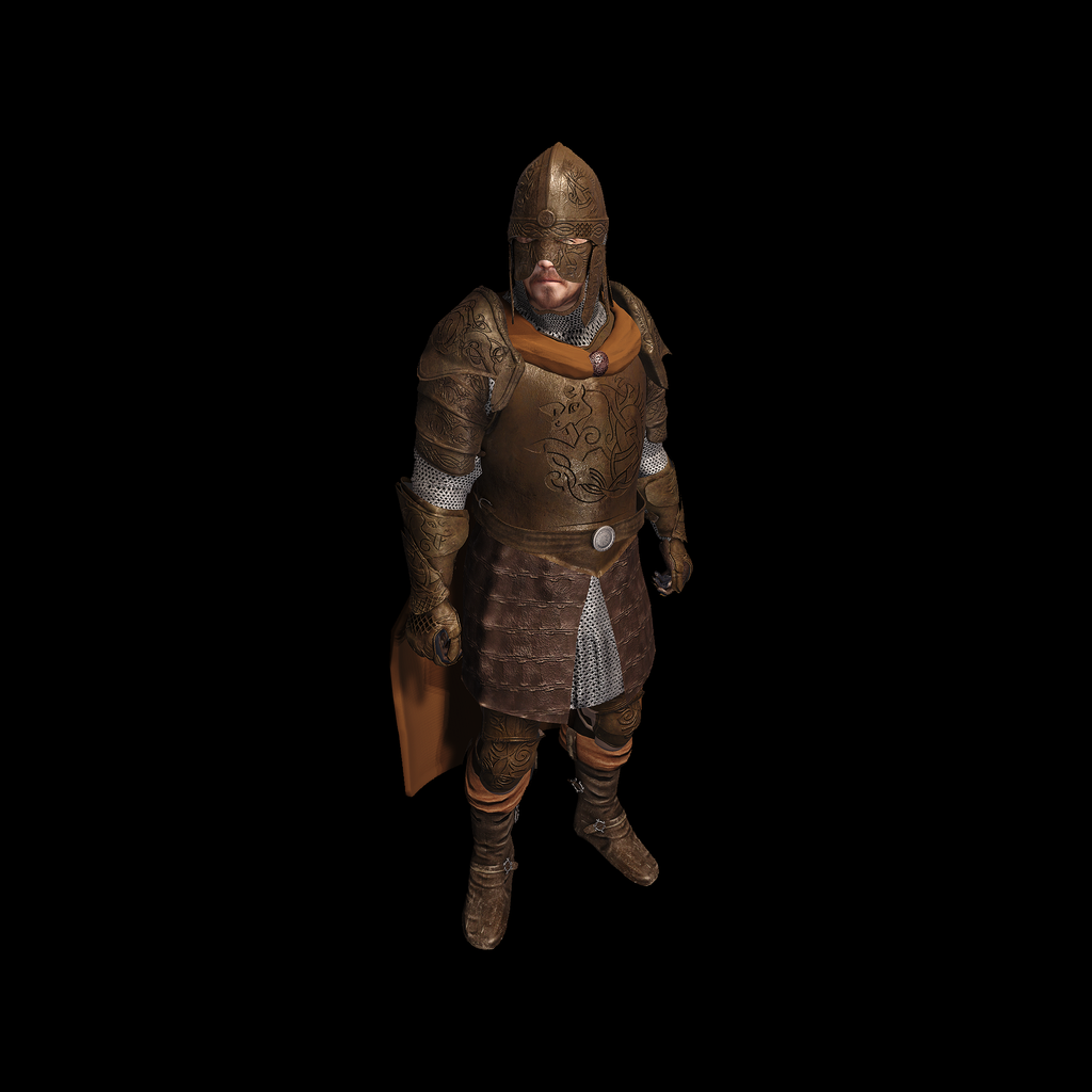 Medieval Knight D for UNITY