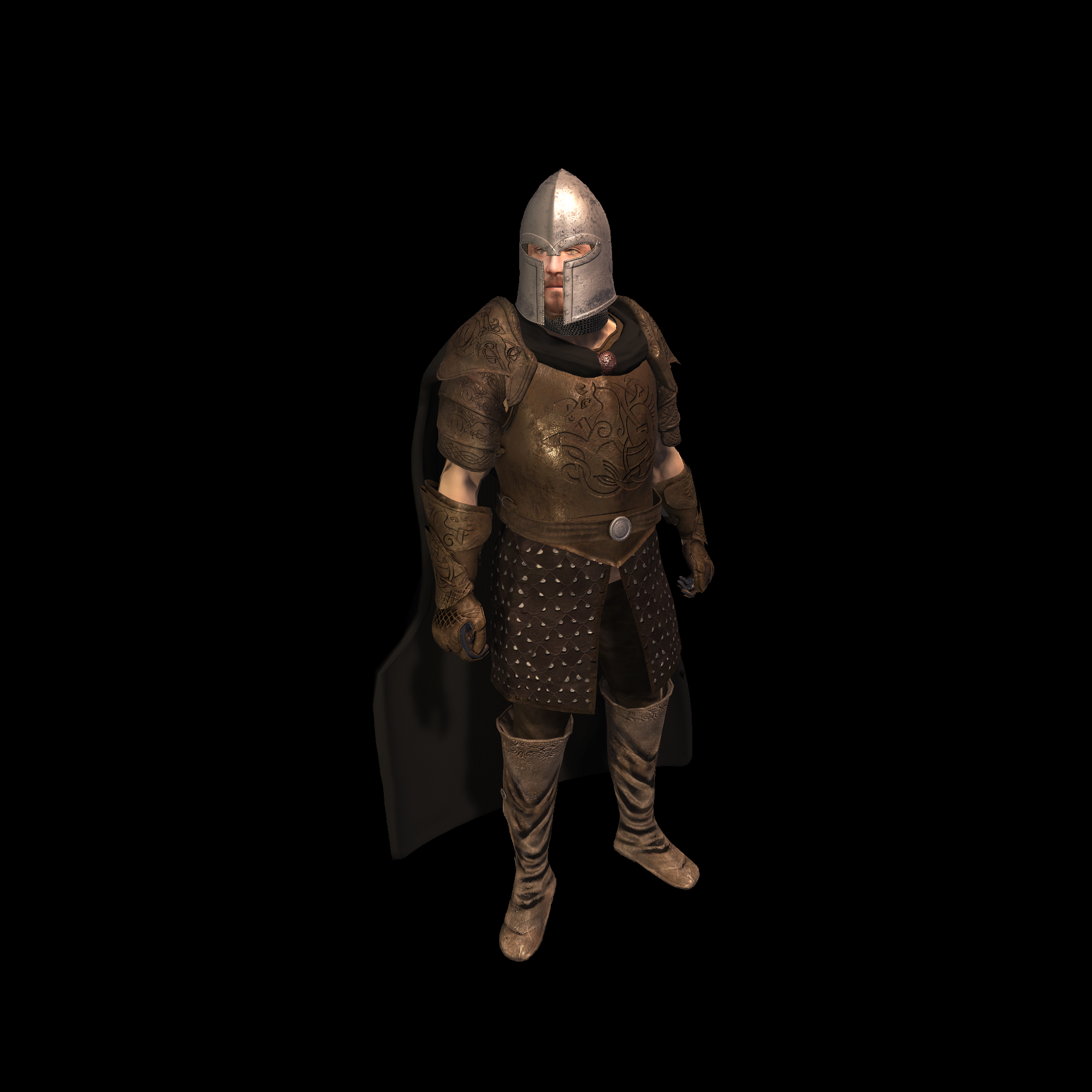 Medieval Knight E for UNITY