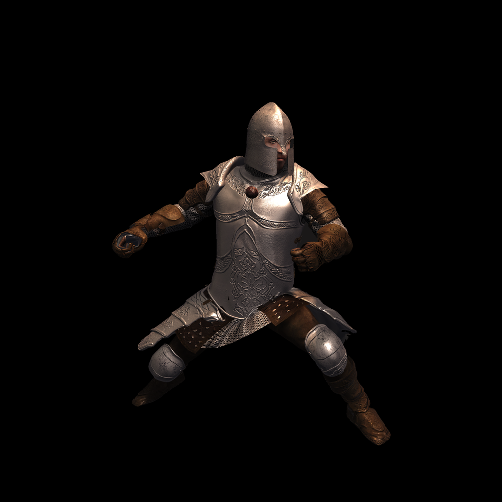 Medieval Knight F for UNITY